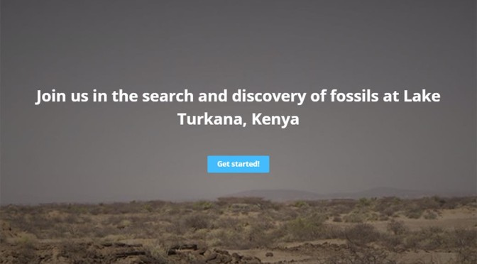 FossilFinder preview up and running